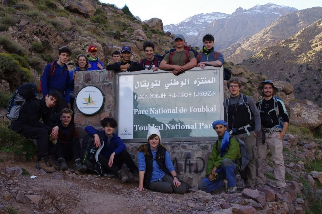 Morocco Group Toubkal Small Version
